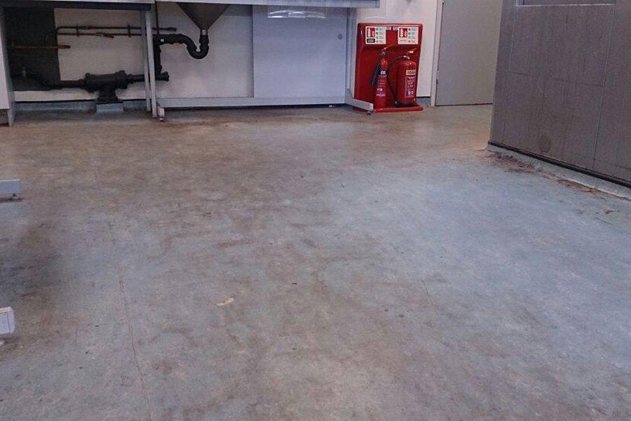 Old Floor Requiring Refurbishment
